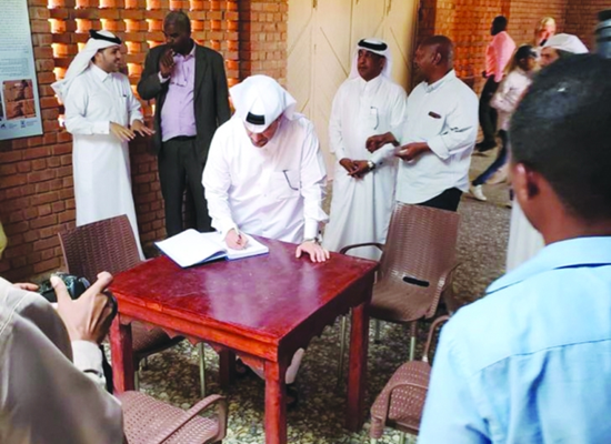 Qatar Museums delegation visits Sudan's archaeology sites