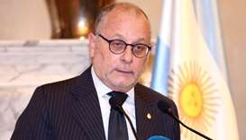 Argentina's Foreign Minister Jorge Faurie