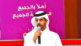 Nasser al-Khater, the Chief of Experience and Tournament Readiness at Supreme Committee for Delivery