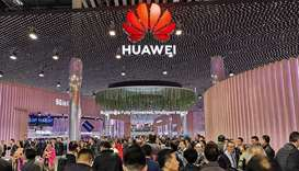 IT professionals, entrepreneurs and enthusiasts thronging the Huawei area at the Mobile World Congre