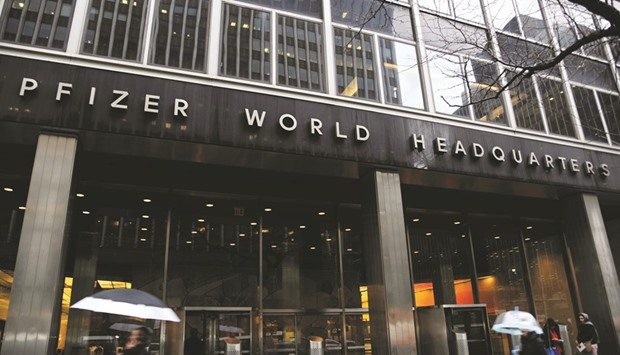 Pfizer decides not to split into 2 firms