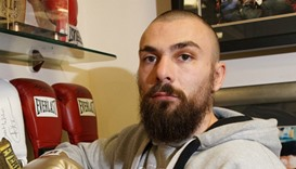 Scottish boxer Mike Towell