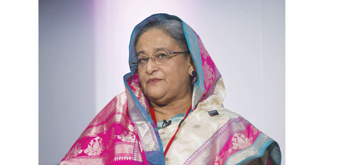 "Sheikh Hasina: ""There should be speedy punishment (for) those caught red-handed..."""