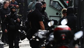 Police surrounded the home of the attacker