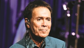 British singer Cliff Richard.