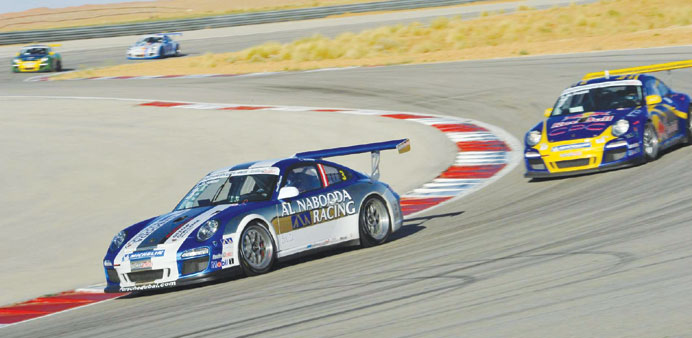 File photo of Porsche GT3 Cup Challenge last year.
