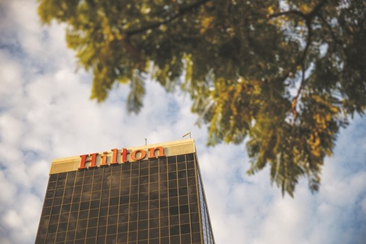 Hilton to spin off timeshares, most of real estate business