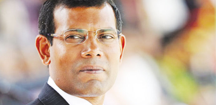 Mohamed Nasheed ... freed man for now