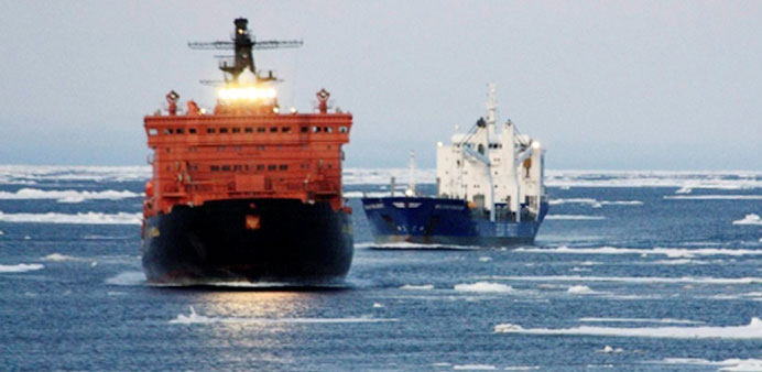 Cargoes of coal, diesel and gas have made the trip on the new shipping route opened up through the A