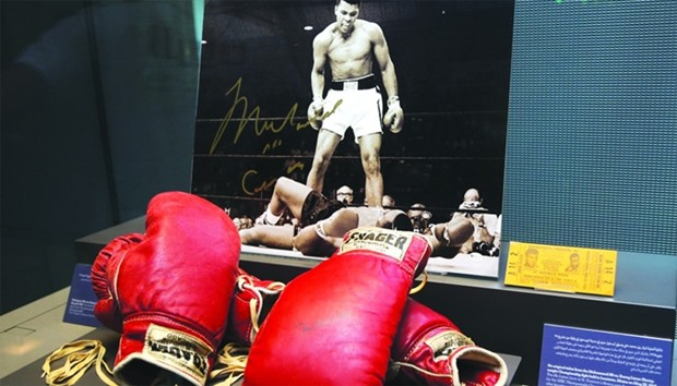 Muhammad Ali - Tribute to a Legend exhibition