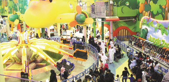 Many families are expected to flock to Jungle Zone during Eid holidays.