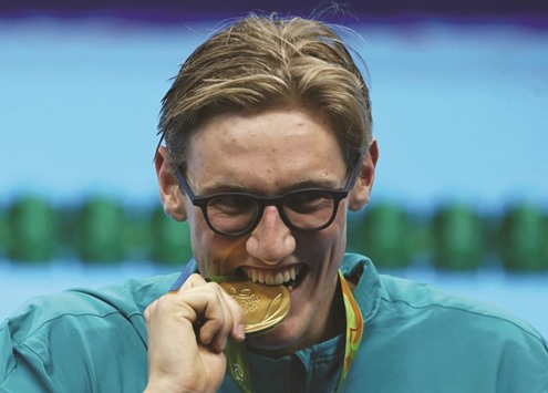 Olympics-Swimming-Sun responds to drug taunts with freestyle gold