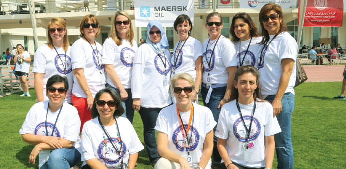 School and PTA officials team up for the annual American School of Doha Friendship festival. PICTURE