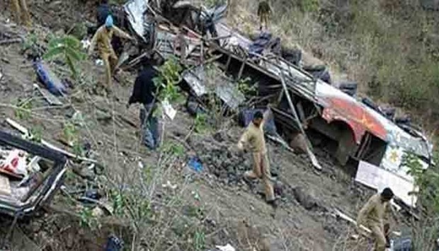 Nepal: Crowded bus slips off Nepal road; 14 people killed, 9 hurt