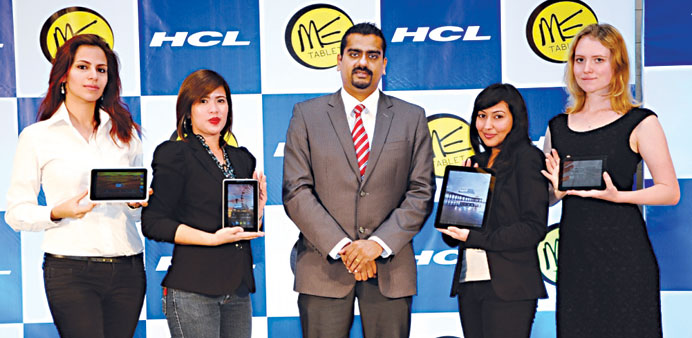 The HCL ME tablets launch.