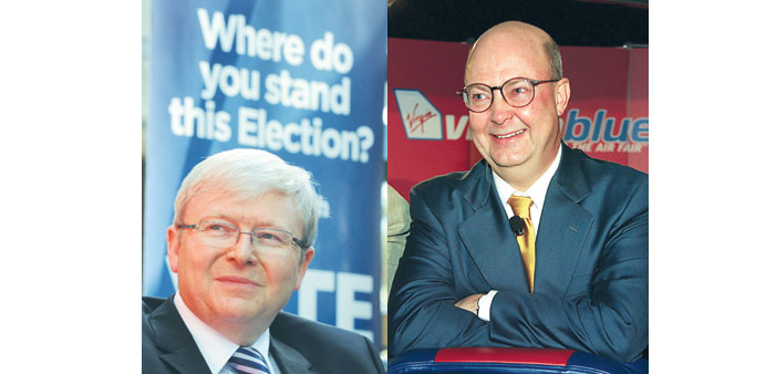 Kevin Rudd, Kim Williams