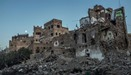 The wreckage of a home hit by a coalition airstrike in Sanaa's Old City, a UNESCO World Heritage sit